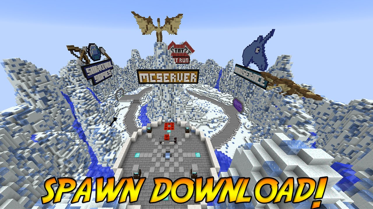 Minecraft spawn hub download dragons vale youtube gumiabroncs Image collections