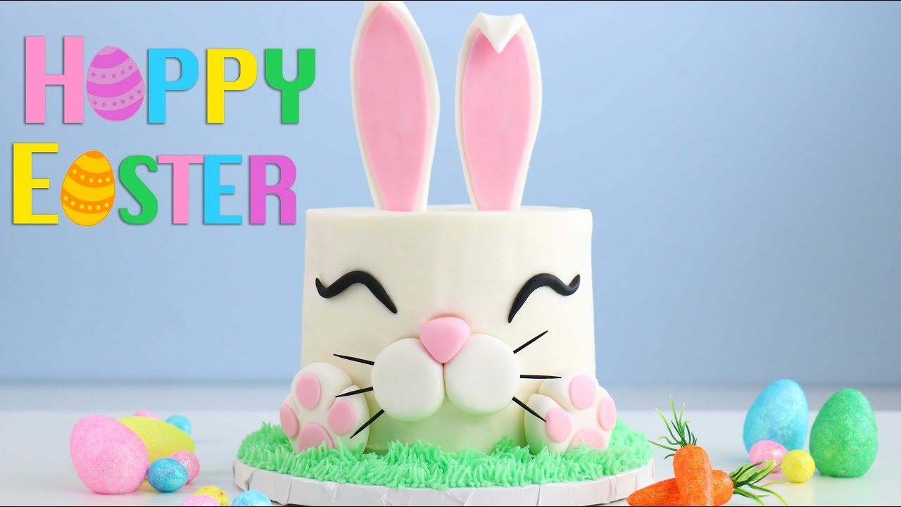 The Trendy Easter Bunny Cake Youtube