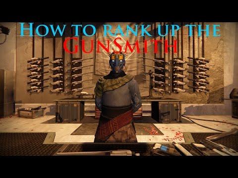 Destiny: How To Rank Up The Gunsmith!