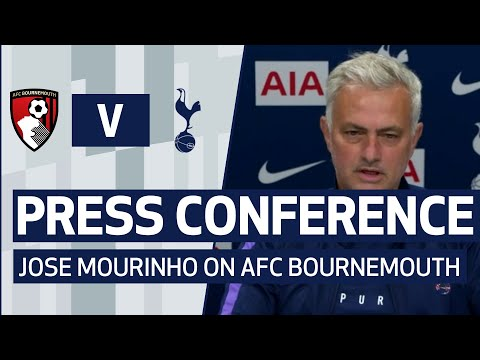 PRESS CONFERENCE | JOSE MOURINHO PREVIEWS AFC BOURNEMOUTH