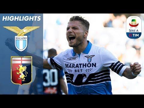 Lazio 4-1 Genoa | Immobile scores twice as Lazio thrash Genoa | Serie A
