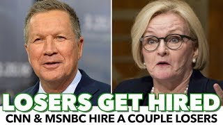 CNN & MSNBC Hire A Couple Out-Of-Touch Losers