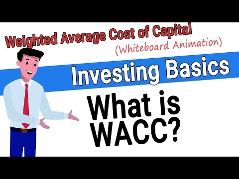 What Is WACC - Weighted Average Cost Of Capital
