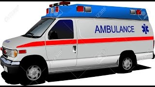 Ambulance Passing With Siren Sound Effect YouTube