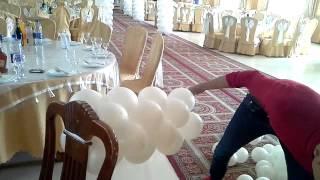 видео Оформление воздушными шарами