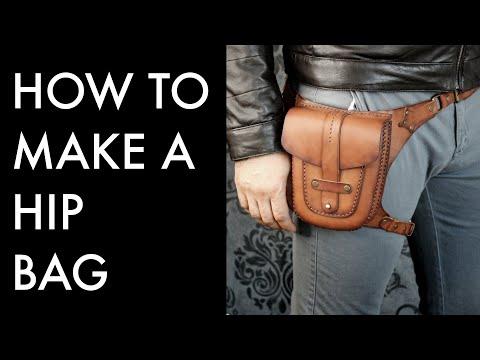 Hip Bag Leather Pattern