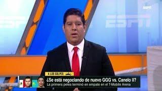 GOLOVKIN BAJA SUS PRETENSIONES PIDE 45% POR PELEAR CON CANELO