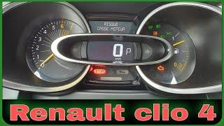 Défaut ( probleme casse moteur) Renault  Clio 4