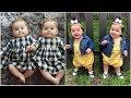 اشيك ملابس اطفال توام اولاد وبنات جديدة 2019 - ملابس توائم نفس اللبس ونفس الشكل