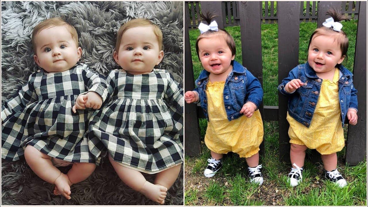اشيك ملابس اطفال توام اولاد وبنات جديدة 2019 ملابس توائم نفس اللبس ونفس الشكل