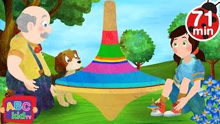 this old man   more nursery rhymes kids songs abckidtv