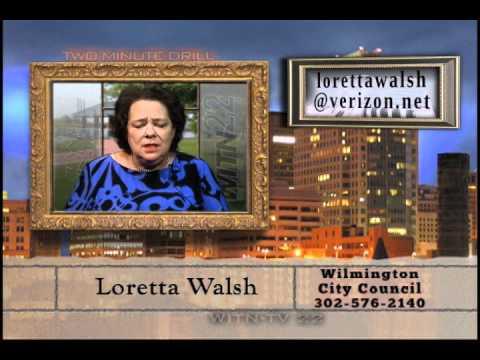 Two Minute Drill  July 14, 2011  Loretta Walsh