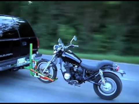 Alpha One Motorcycle Tow Hitch Youtube