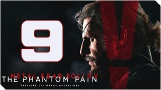 METAL GEAR SOLID V THE PHANTOM PAIN | Cap 9 | Latón Rojo