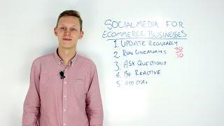 5 Social Media Tips for Ecommerce Businesses