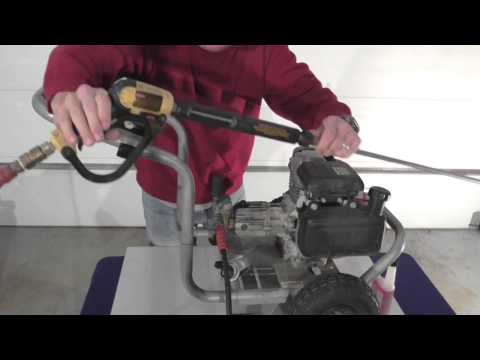 How To Winterize a Pressure Washer- In 3 Easy Steps