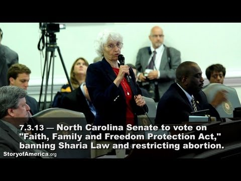 "Epic Abortion Debate in North Carolina ""Story of America"""