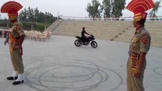 border india pakistan bike stunts punjab fazilka