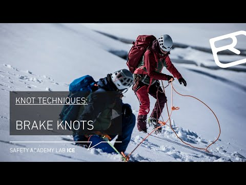 Butterfly Knot, Double Over Hand Knot:  Brake Knots On High Alpine Tours – Tutorial (8/18) | LAB ICE