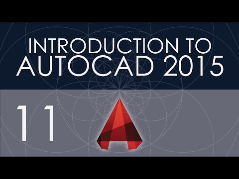 Intro to AutoCAD 2015 - 11 - Dimension Styles
