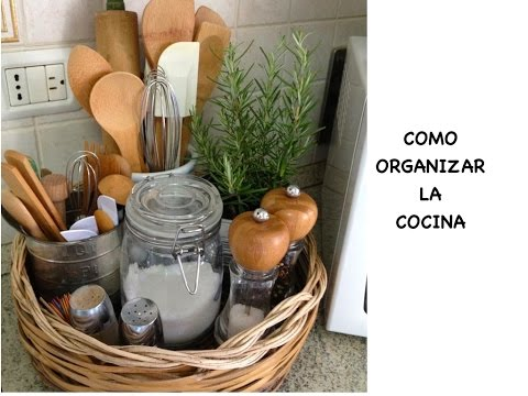 como organizar la cocina kitchen organization ideas youtube