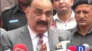 DSP Imran Babar talks with media