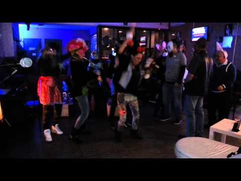 """""""Harlem shake""""al bum bum karaoke"""