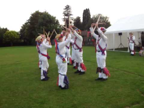Morris dance in Botley Jenny Lind with sticks