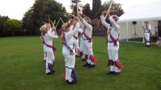 Morris dance in Botley Jenny Lind with sticks(Wickham morris dance Jenny Lind at an event which was part of the Botley music week. The percussive effect of the short and long hazel sticks was diminished ..., 2011-07-04T21:19:35.000Z)
