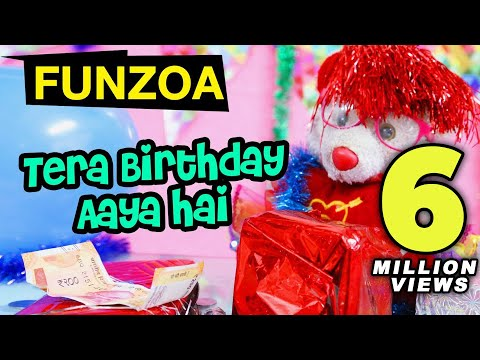tera-birthday-aaya-hai-|-funzoa-funny-hindi-birthday-song-by-mimi-teddy-|-birthday-wish-for-friends