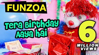 "Enjoy ""tera birthday aaya hai"" funny song wish by funzoa mimi teddy. it is the perfect bday for friends. share & dont forget to subscribe. song..."