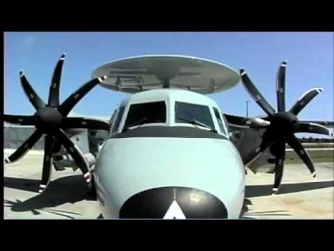 E-2D Advanced Hawkeye B-Roll Video