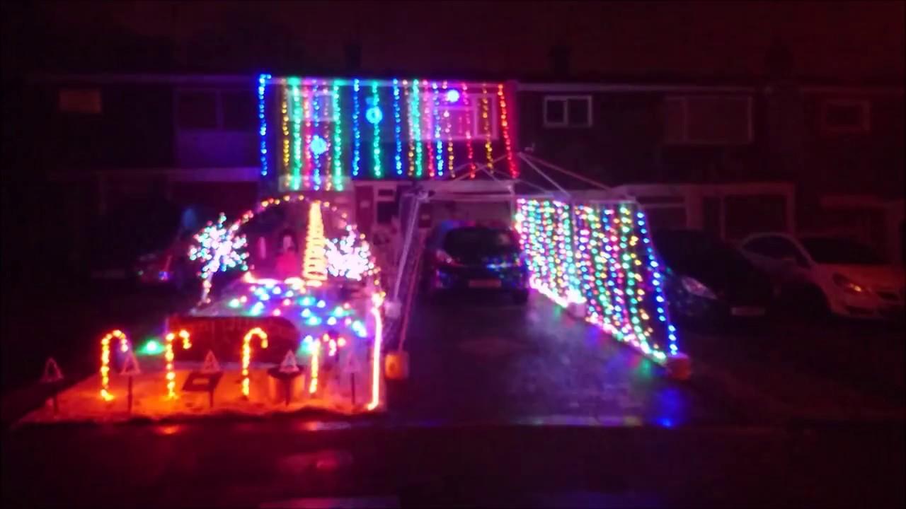 metal christmas light display lamb of god redneck - Redneck Christmas Lights
