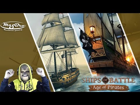 Ingin Jadi Bajak Laut - Ships of Battle Age of Pirates- Android Gameplay Indonesia
