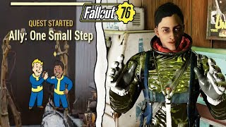 Fallout 76 | How to Recruit the Astronaut Woman to Your Camp! (Fallout 76 Wastelanders)