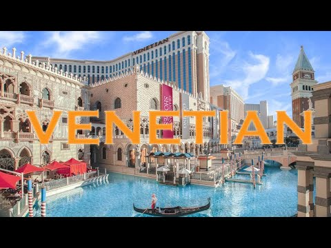 The Venetian Hotel Casino Las Vegas & Grand Canal Shoppes Walkthrough 2019 4K