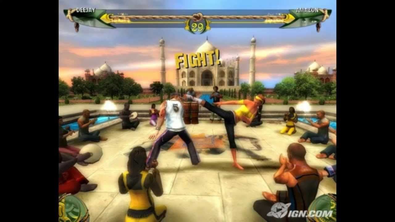CAPOEIRA FIGHTERS PS2 BAIXAR