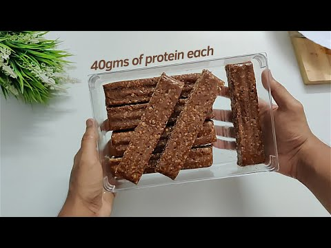 I Made Some Really Awesome Protein Bars For A Week !! 🇮🇳