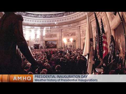 Inauguration Day Weather History