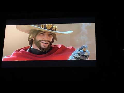 McCree Cinematic Overwatch Reunion Animated Short—BlizzCon 2018 Mythic Stage Crowd Reaction