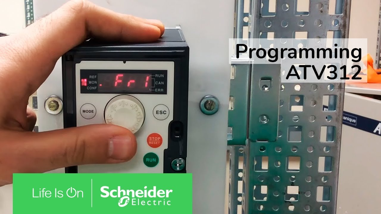 Video: Programming the ATV312 for terminal start stop & speed