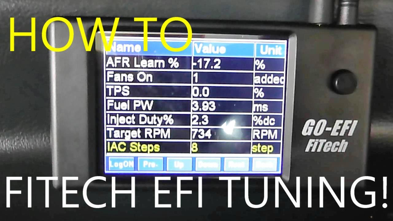 FITECH EFi Tuning 400HP 600HP fuel injection system  YouTube