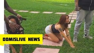 Stitches Walking Girls like Dogs with Leashes | Rapper Stitches