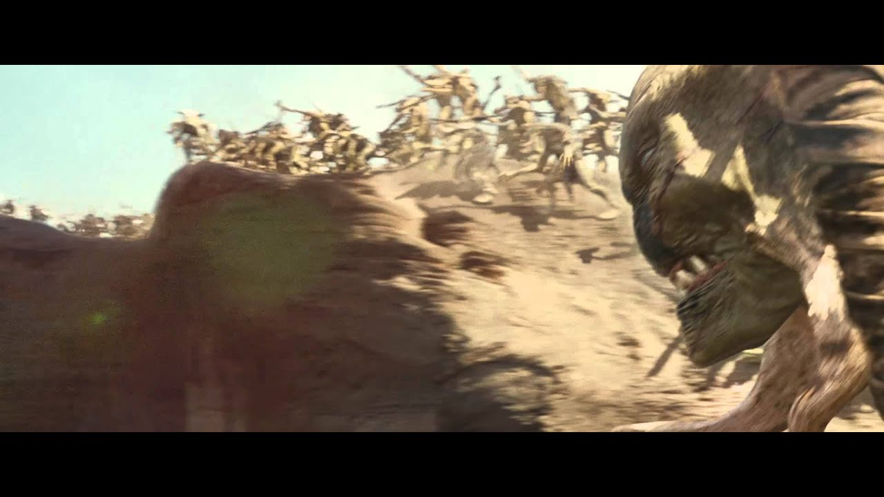 John Carter - Canyon Escape CLIP | Disney HD 2012