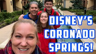 Checking In to Disney Coronado Springs Homecomin Kitchen and Baby Yoda