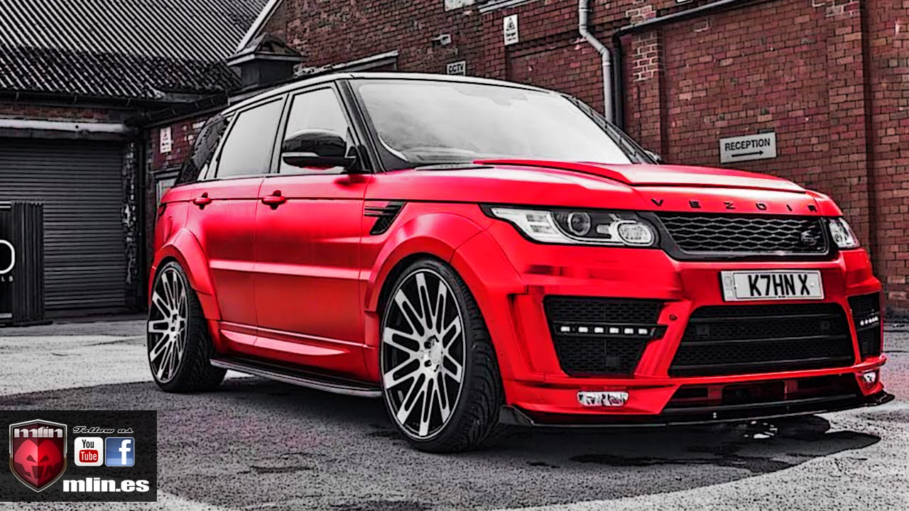 range rover sport supercharged 600cv uk by mlin youtube. Black Bedroom Furniture Sets. Home Design Ideas