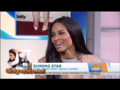 Ciara Interview on Today Show 5-5-15