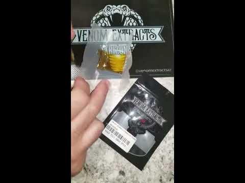 Venom extracts AZ shatter dabs