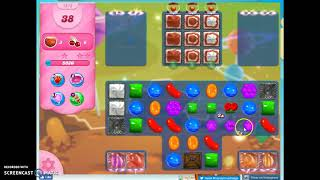 Candy Crush Level 1213 Audio Talkthrough, 1 Star 0 Boosters
