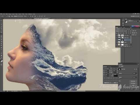 Cắt ghép ảnh bằng phần mềm photoshop   Sử dụng mặt nạ trong photoshop   Hiệu ứng đặc biệt photoshop